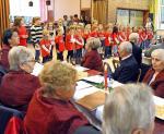 Musik prägt Seniorenweihnachtsfeier