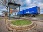 Kurviger Straßenverlauf erschwert Baumaßnahme in Ausbüttel